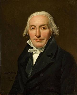 Portrait of Jean-Pierre Delahaye Print by Jacques-Louis David