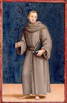 Saint Anthony of Padua Print by Raphael
