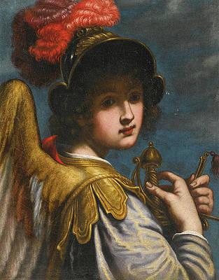 The Archangel Michael Print by Matteo Rosselli