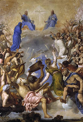 The Glory Print by Titian