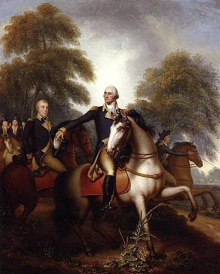 Washington Before Yorktown Print by Rembrandt Peale