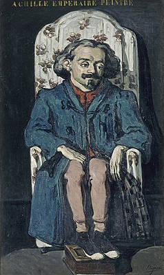 Achille Emperaire Print by Paul Cezanne