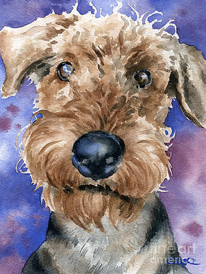 Set of 3 Airedale Terrier Dictionary Art Prints Terrier Dog Poster on Book Page Dog Nursery Decor Artwork Christmas Gift Dog Wall Hanging