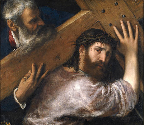 Christ Carrying the Cross Print by Titian