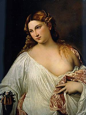 Flora Print by Titian