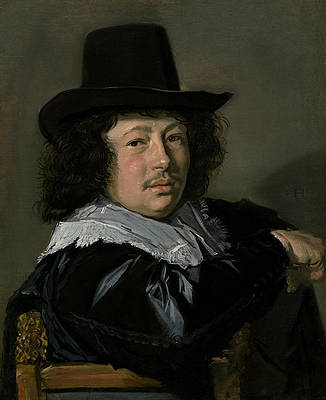 Portrait of a Young Man Print by Frans Hals