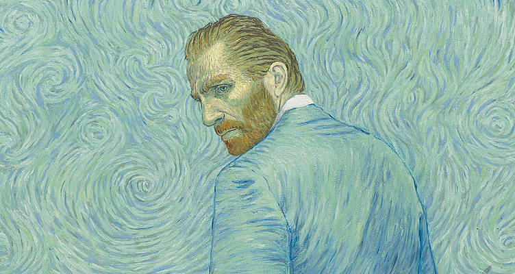 Trademark Wall Art - Painting - Our Loving Vincent by Anna Kluza