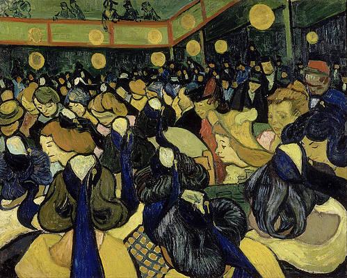 Italian Woman. Agostina Segatori Print by Vincent van Gogh