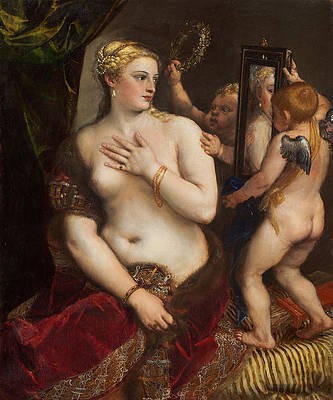 Venus with a Mirror Print by Titian