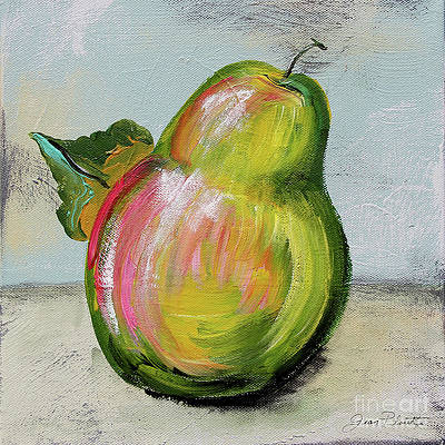 Abstract Pear Paintings Fine Art America