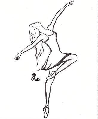 Ballet Drawings Page 17 Of 20 Fine Art America