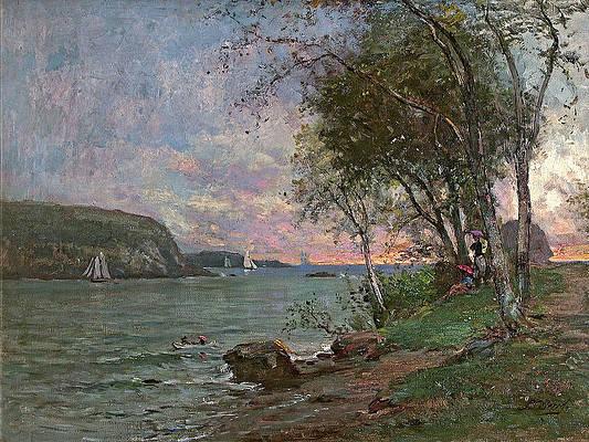 Bar Harbor. Maine Print by Samuel Lancaster Gerry