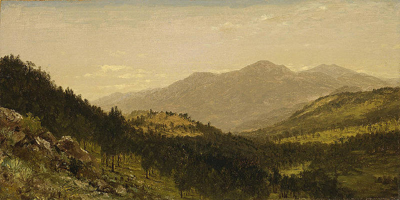 Bergen Park. Colorado Print by John Frederick Kensett