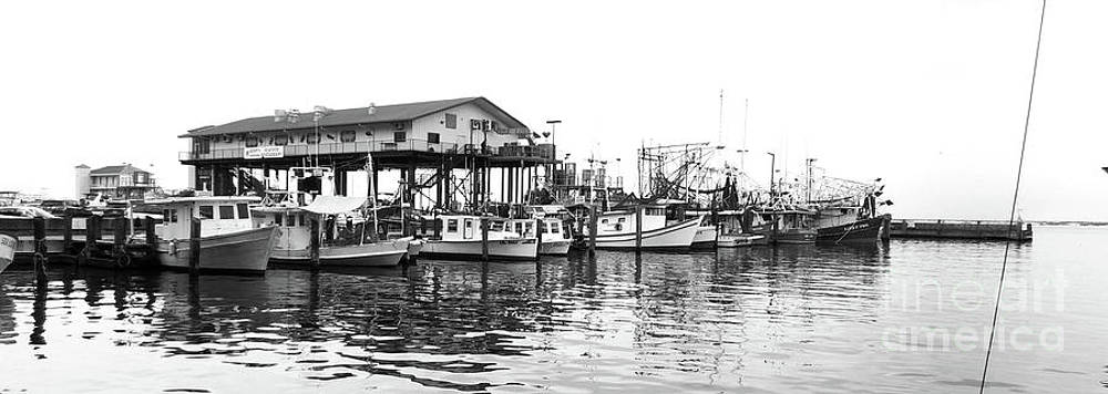 Biloxi Shrimp Boat Harbor At Hard Rock Photograph By Bill Holkham