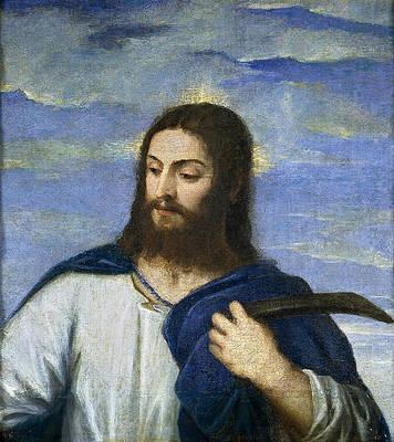 Christ, a gardener Print by Titian