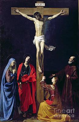 Jesus On The Cross Paintings Fine Art America