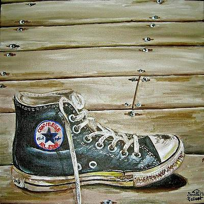 Converse Shoes Paintings | Fine Art America