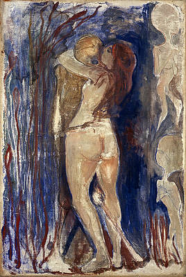 Death and Life Print by Edvard Munch