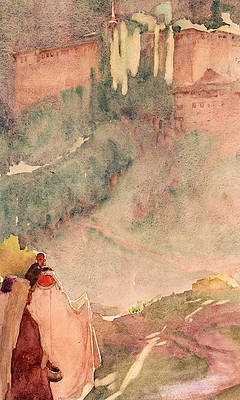 Dream Castle Print by William Blamire Young