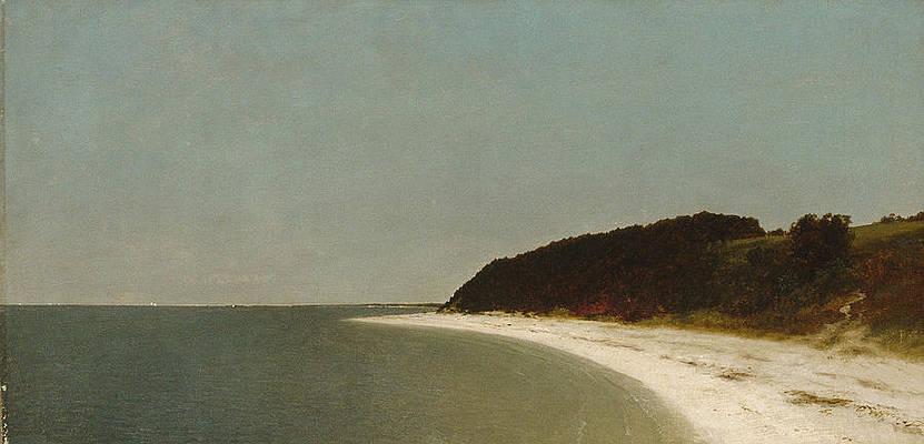 Eaton's Neck Long Island Print by John Frederick Kensett