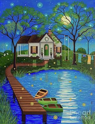 Firefly Paintings Fine Art America