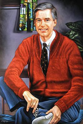 Mister Rogers Paintings Fine Art America