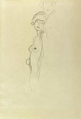 Girlfriends Print by Gustav Klimt