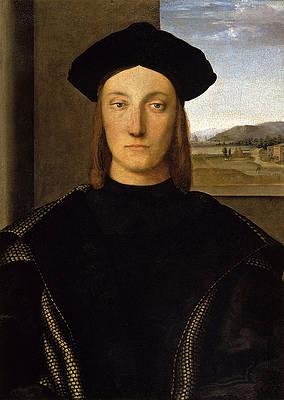 Guidobaldo da Montefeltro Print by Raphael
