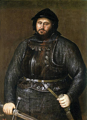 John Frederick I, Elector of Saxony Print by Titian
