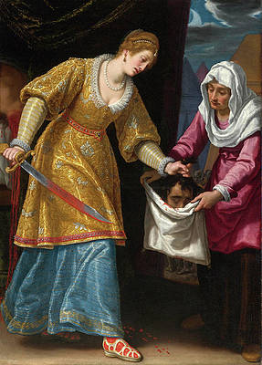 Judith and Holofernes Print by Matteo Rosselli