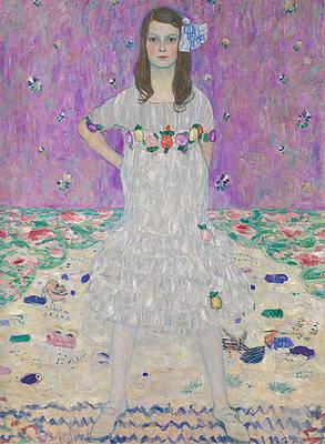 Mada Primavesi Print by Gustav Klimt