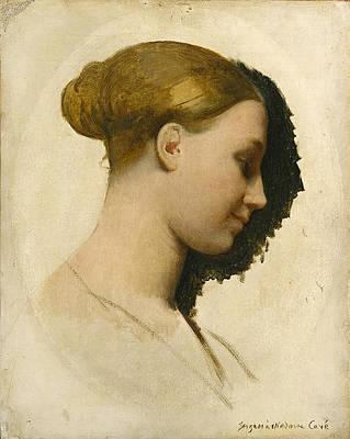 Madame Edmond Cave. Marie-Elisabeth Blavot Print by Jean-Auguste-Dominique Ingres