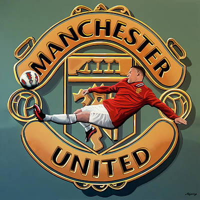 Manchester United Paintings Fine Art America