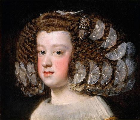 Maria Teresa Infanta of Spain Print by Diego Velazquez