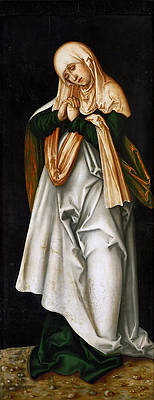 Mary as Mother of Sorrows Print by Lucas Cranach the Elder