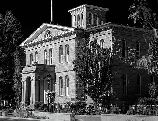 Photograph - Nevada State Museum, Carson City, Nevada by Day Williams