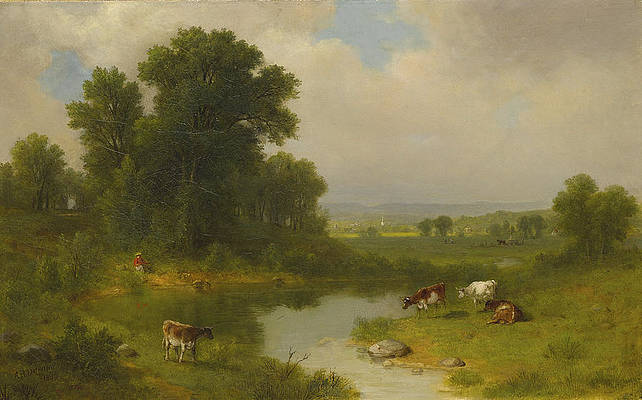 New Jersey Landscape Print by Asher Brown Durand