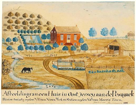 New Jersey Landscape Print by Peter Oudenaarde