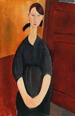 Paulette Jourdain Print by Amedeo Modigliani
