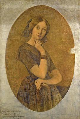 Portrait de la Comtesse d'Haussonville Print by Jean-Auguste-Dominique Ingres