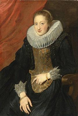 Portrait of a Lady Print by Anthony van Dyck