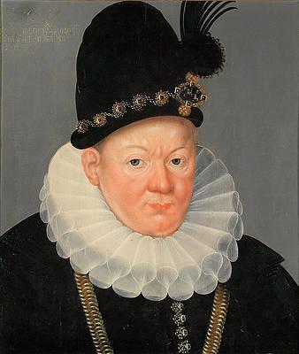 Portrait of Albert Frederick Duke of Prussia Print by Heinrich Bollandt