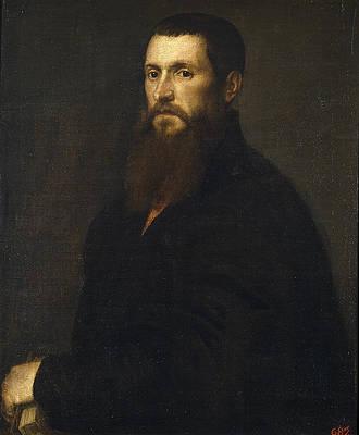 Portrait of Daniele Barbaro Print by Titian