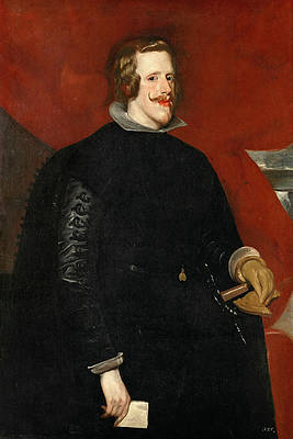 Portrait of Philip IV King of Spain Print by Diego Velazquez