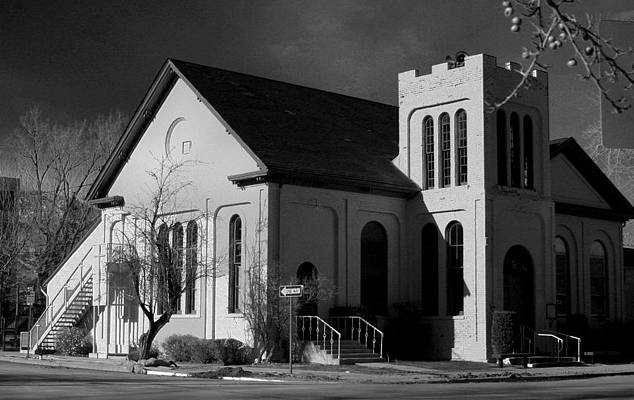 Photograph - Presbyterian Church, Carson City, Nevada by Day Williams