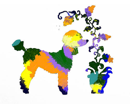 Psychedelic Dog Art Page 4 Of 7 Fine Art America