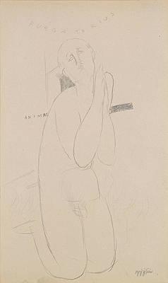 Purgatorius animae Print by Amedeo Modigliani