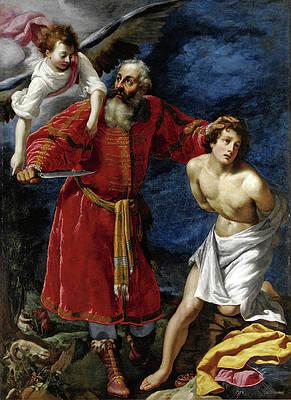 Sacrifice of Isaac Print by Matteo Rosselli