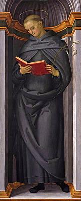 Saint Francis of Siena Print by Pietro Perugino