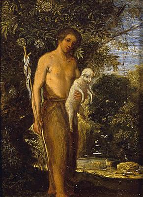 Saint John the Baptist Print by Adam Elsheimer
